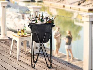 Black Folding Tub Cooler