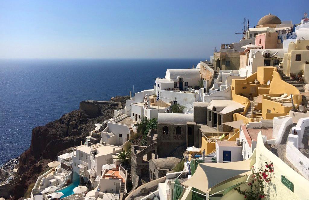 Santorini Wine in Greece