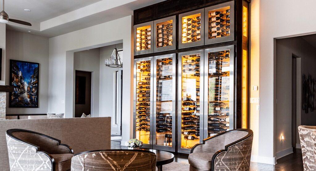 Custom Wine Cabinet