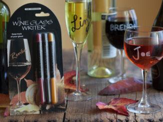 Thanksgiving Wine Glass Writers