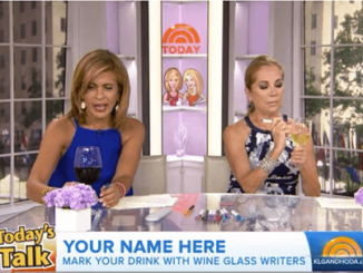 Wine Glass Writer on the Today Show