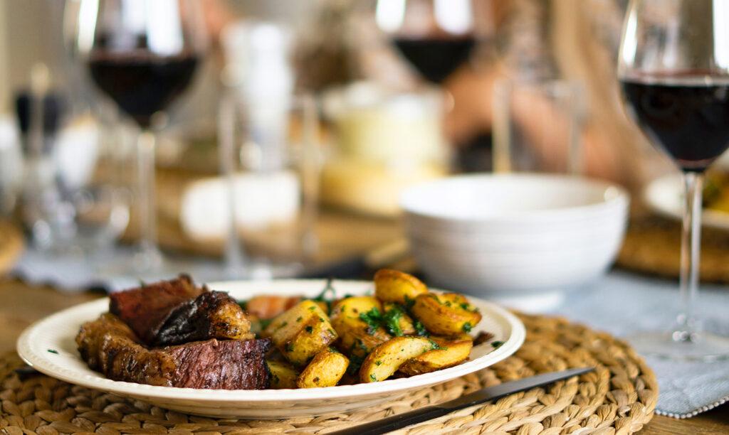 Red Wine & Steak