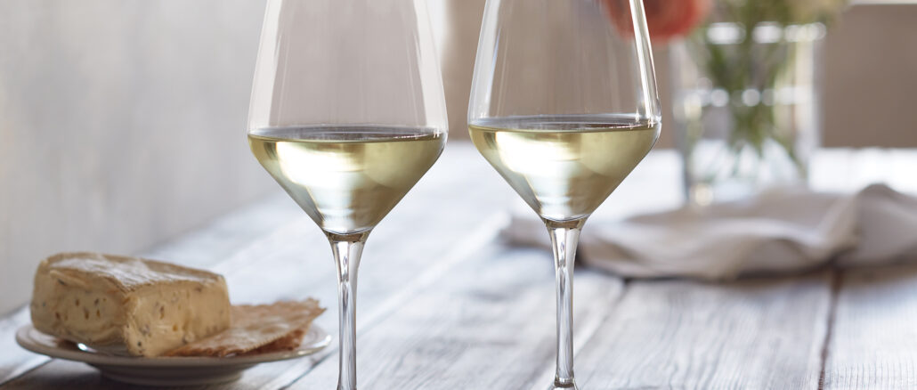 White Wine Festival Glasses
