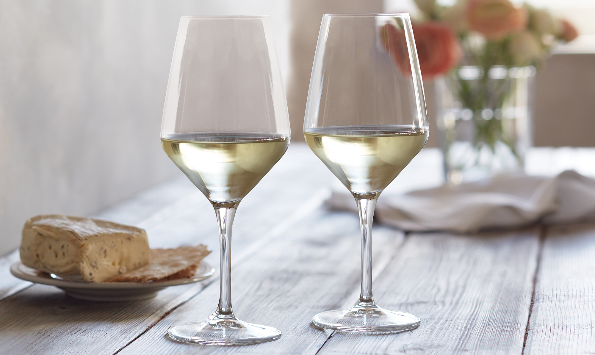 White Wine Festival Glasses
