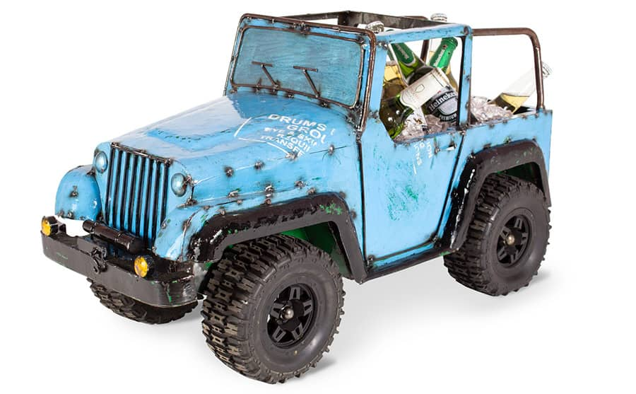 Blue Jeep Wine Chiller