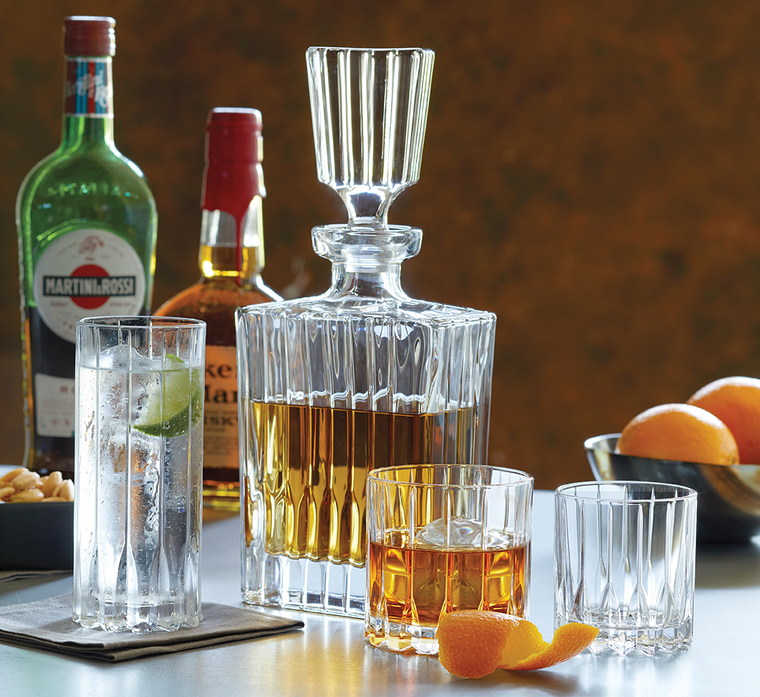 Riedel Drink Specific decanter and tumblers