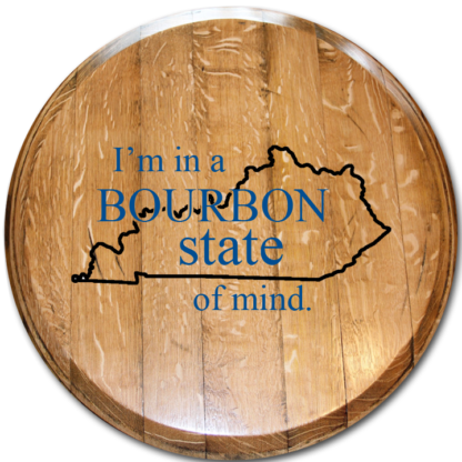 bourbon state of mind barrel head