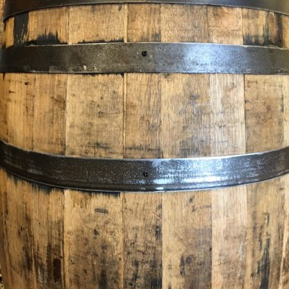 finished barrel side detail