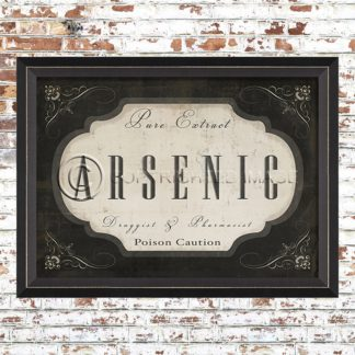 Framed Arsenic Print