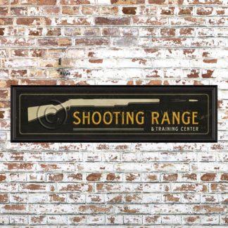 Framed Shooting Range Print