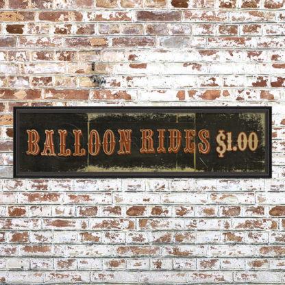 Balloon Rides Print