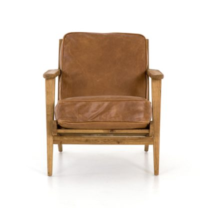 four hands brooks lounge chair palomino 2