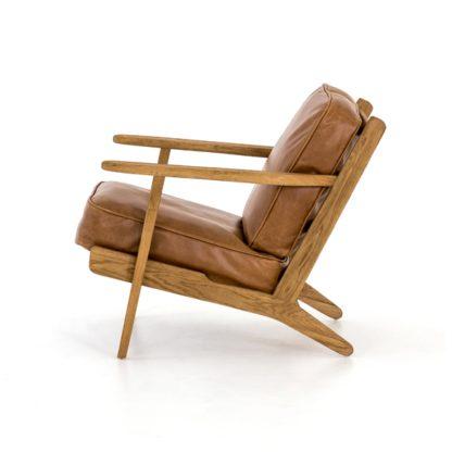 four hands brooks lounge chair palomino 3