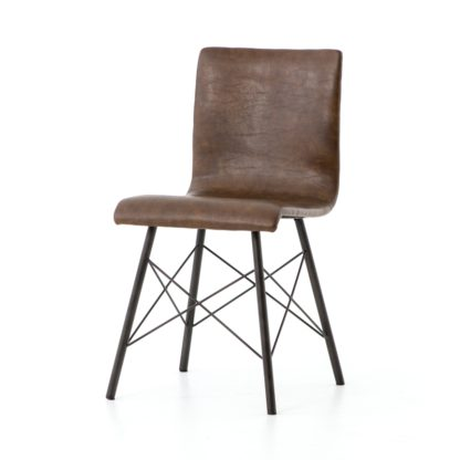 four hands diaw dining chair brown