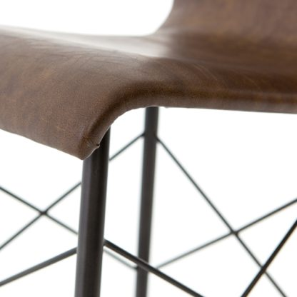 four hands diaw dining chair brown 4