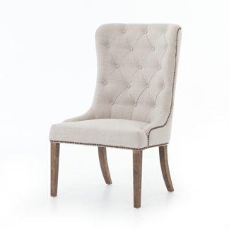 four hands elousie dining chair beige