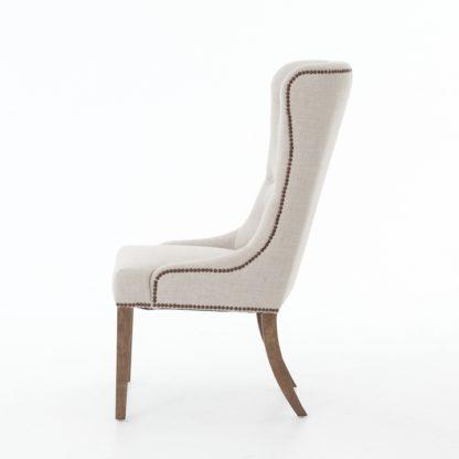 four hands elousie dining chair beige 4