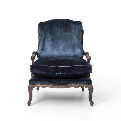 four hands boutique accent chair blue 3