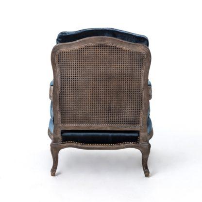 four hands boutique accent chair blue 5
