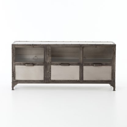 four hands element media console 4