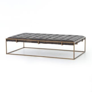 four hands oxford coffee table ebony