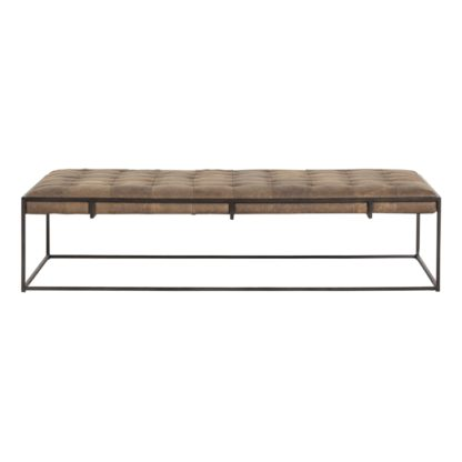 four hands oxford coffee table umber 2