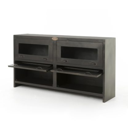 four hands rockwell media console 5