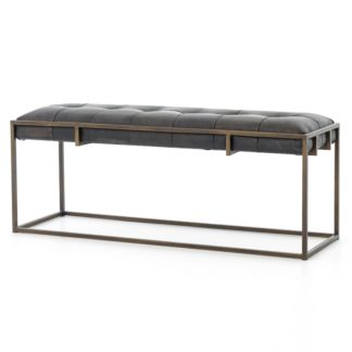 four hands oxford bench ebony
