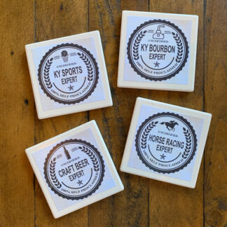 Stone Drink Coasters (Set of 4)- Experts