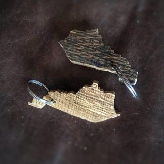 Mini State Keychain