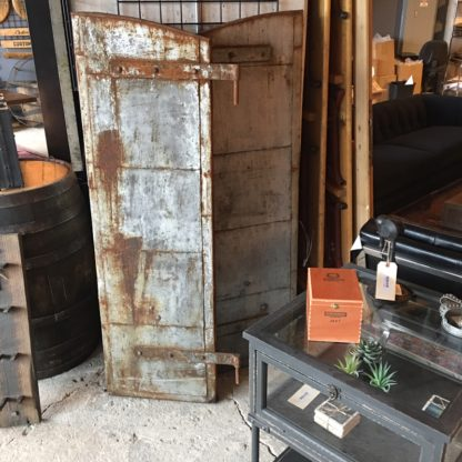 Reclaimed Old Crow Distillery Shutters