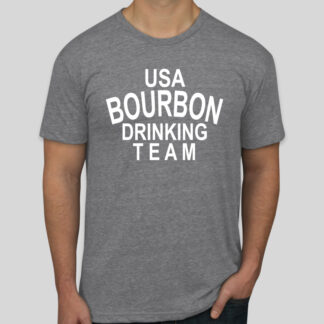 USA Bourbon Drinking Team Shirt