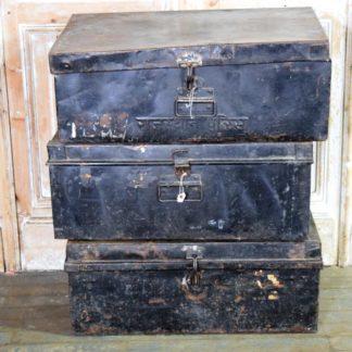 Vintage Metal Trunk