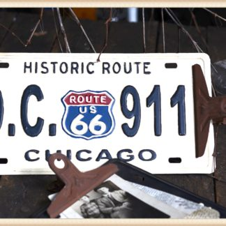 Chicago License Plate Clipboard