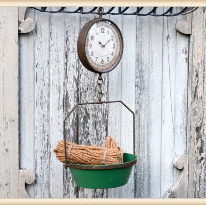 Country Scale Clock