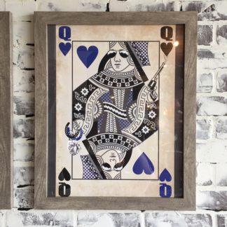 Kentucky Queen of Hearts (Framed)
