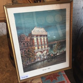 Vintage Framed Print- Lexington Opera House