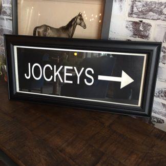 JOCKEYS Framed Print