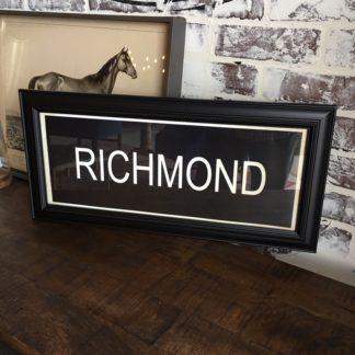 RICHMOND Framed Print