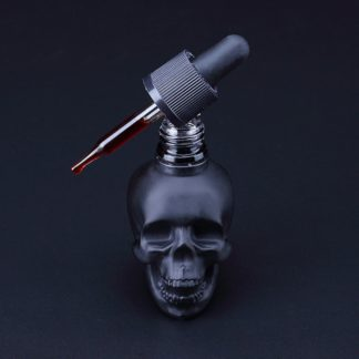 Black Skull Bitters Bottle