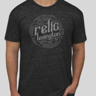 Distressed Relic Logo Shirt