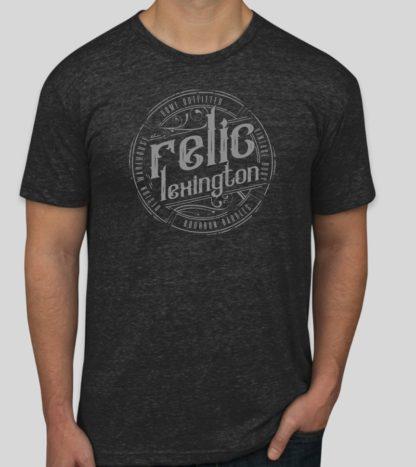 Distressed Relic Logo Shirt
