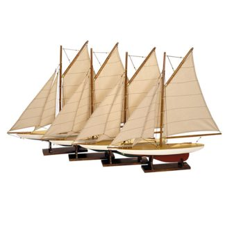 Reproduction Pond Yacht