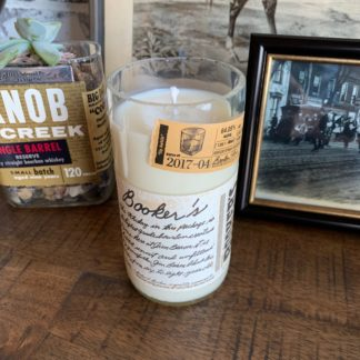 Recycled Booker's Bourbon Candle