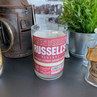 Recycled Russell's Reserve SB Whiskey Candle
