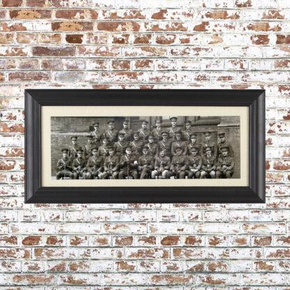 Vintage Batallion Photo Framed Print 1