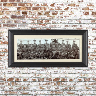Vintage Batallion Photo Framed Print 2