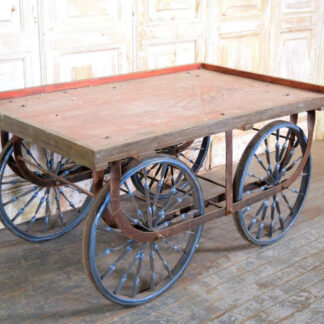 Vintage Indian Vendor Cart