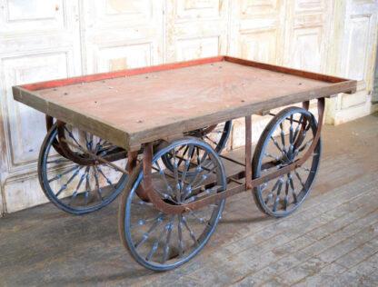 Vintage Indian Vendor Cart