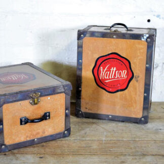 Vintage English Advertising Boxes
